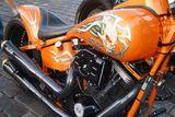 Motorrad Auspuff Luftfilter