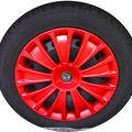 Original Alfa Romeo Radkappe Rot