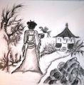 Die Geisha geht ihren Weg