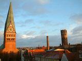 Lüneburg aus meinem Fenster